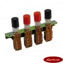 Conjunto 4 Botones Servicio Williams/Bally 5641-12724-00
